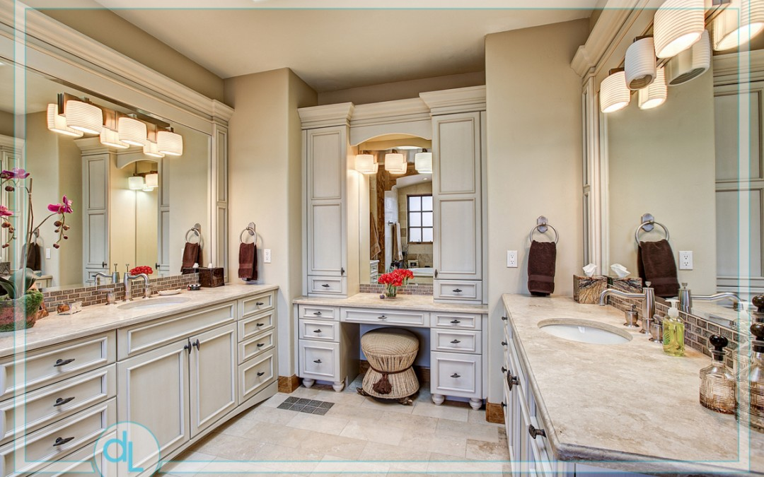 Master powder room.