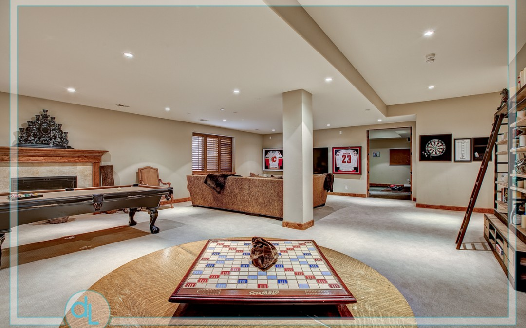 The ultimate game room.